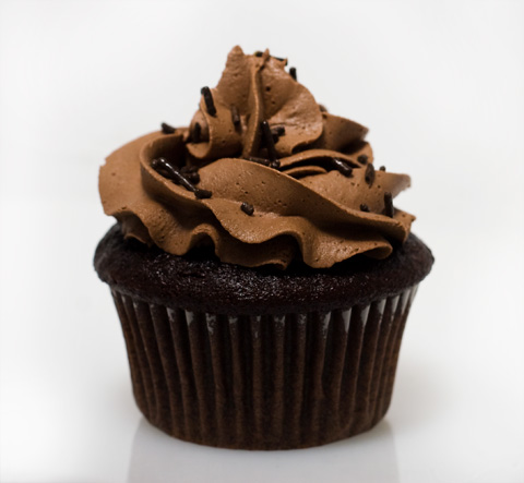 Cupcake Wench Rich Chocolate Cupcake